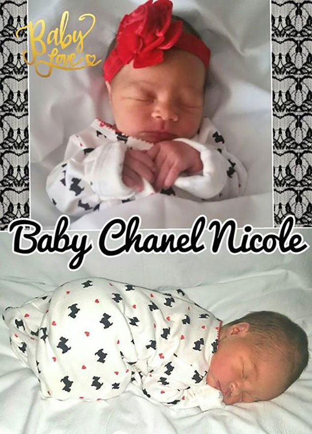 Coco Chanel Nicole, Baby Photos