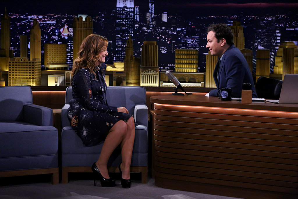 Amy Poehler, Jimmy Fallon, The Tonight Show