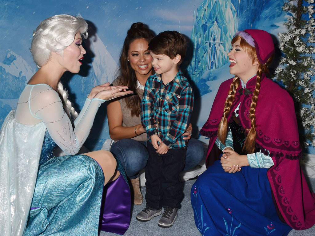 Elsa the Snow Queen, Vanessa Lachey, Camden Lachey, Frozen, Princess Anna