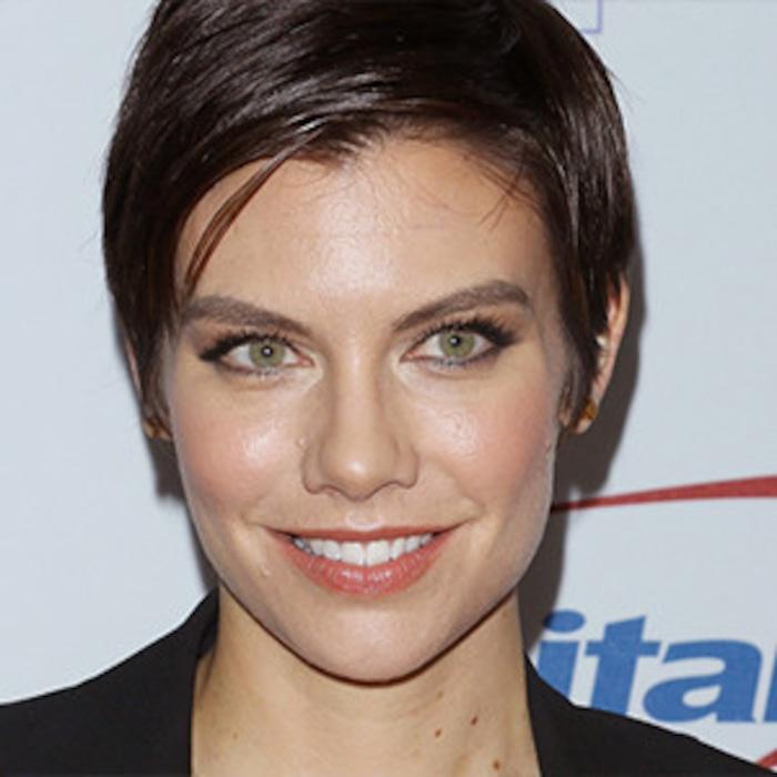 Lauren Cohan From The Walking Dead Debuts New Haircut E Online