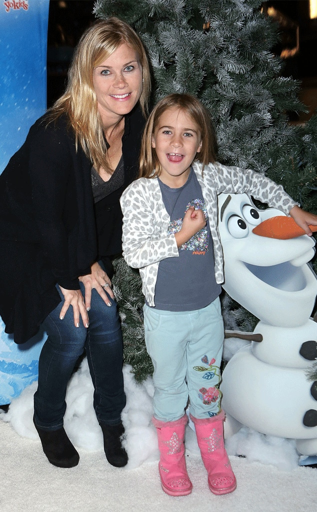 Alison Sweeney & Megan Sanov -  The  Days of Our Lives  starand her daughterget in the holiday spirit at  Disney On Ice Presents Frozen  at the Staples Center.