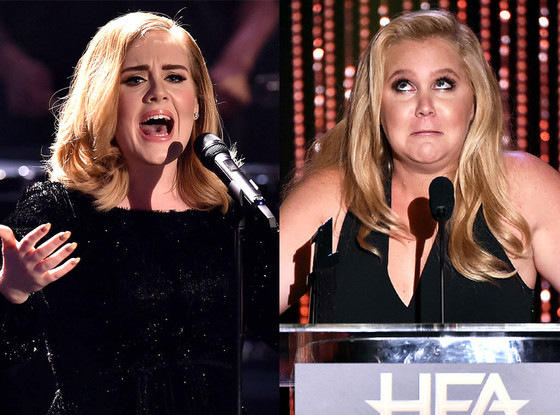 Amy Schumer, Adele, Celeb of the Year Poll