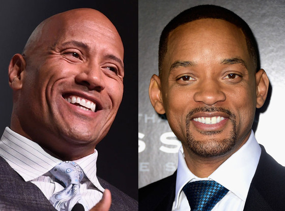 Dwayne Johnson, The Rock, Will Smith, Celeb of the Year Poll