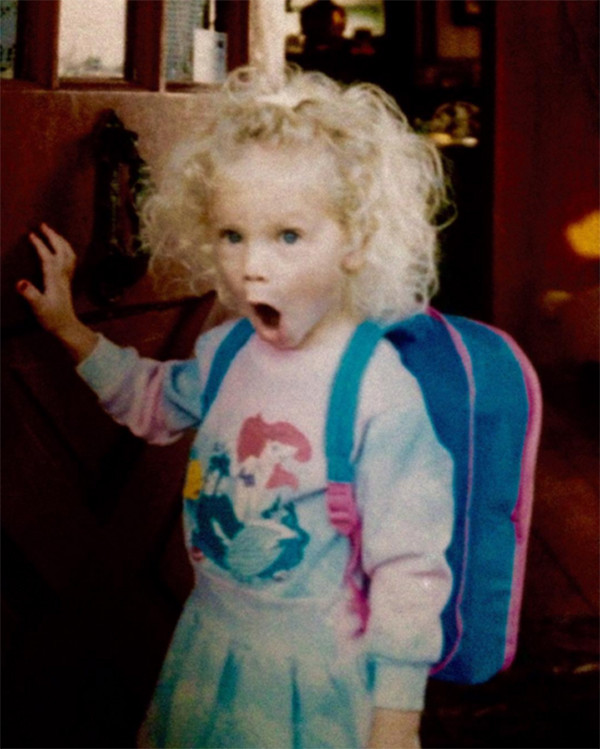 Taylor Swift, Childhood Throwback Photo