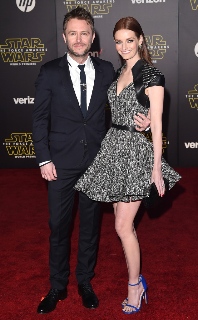 Chris Hardwick, Lydia Hearst, Star Wars Premiere