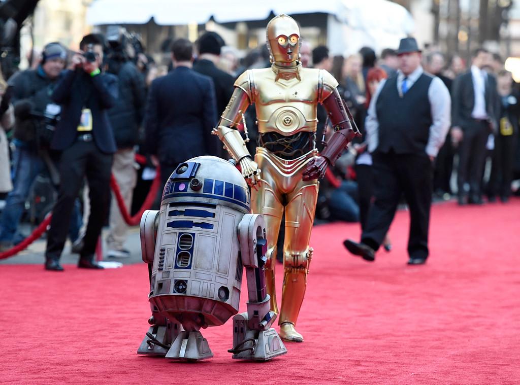 R2-D2, C-3PO, Star Wars Premieres