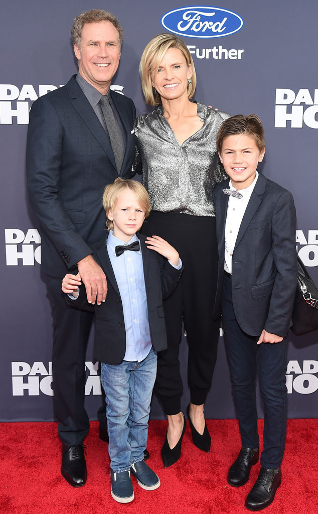 Will Ferrell Brings His Kids to His Daddy's Home Premiere ...