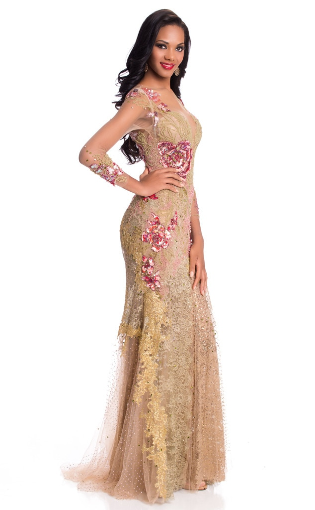 Miss Universe 2015, Evening Gown, Miss Angola