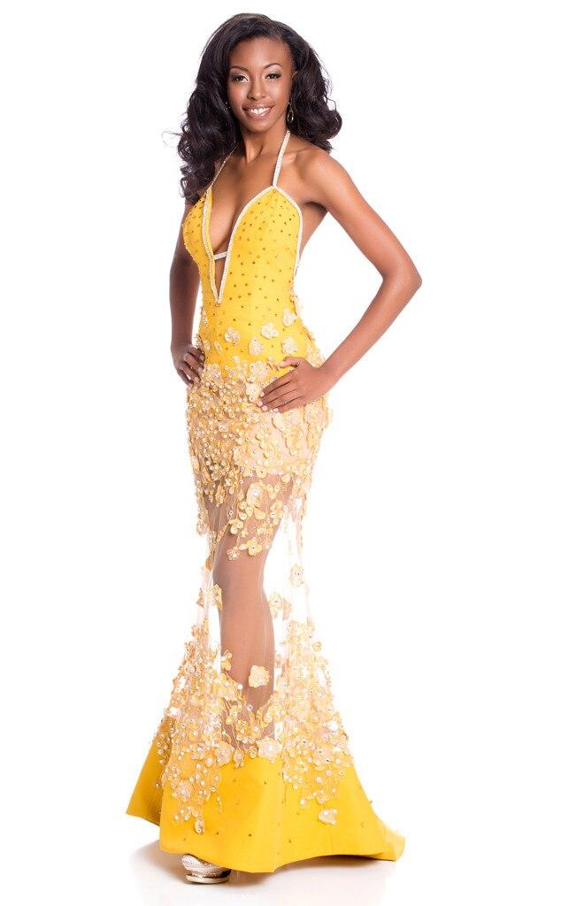 Miss Universe 2015, Evening Gown, Miss British Virgin Islands