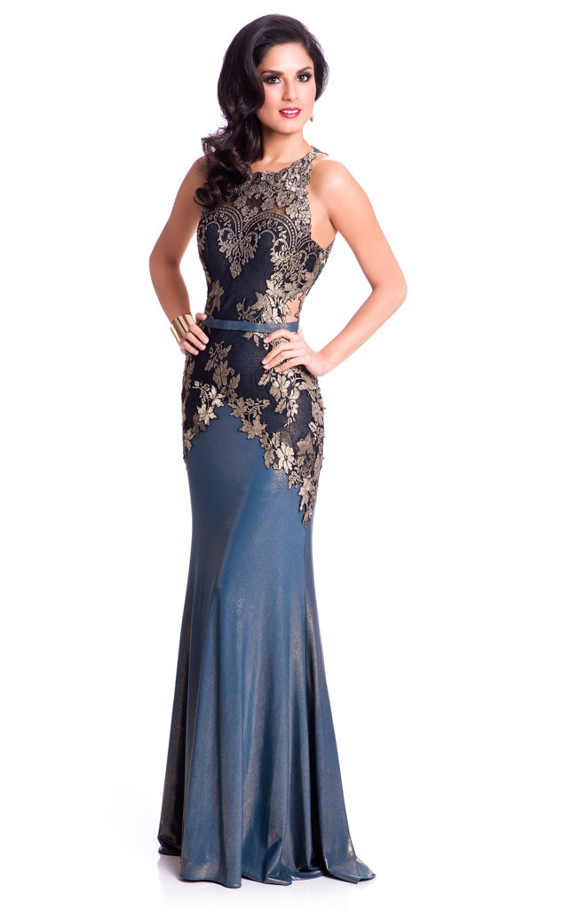 Miss Universe 2015, Evening Gown, Miss Chile
