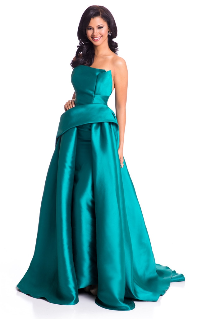 Miss Universe 2015, Evening Gown, Miss Curacao