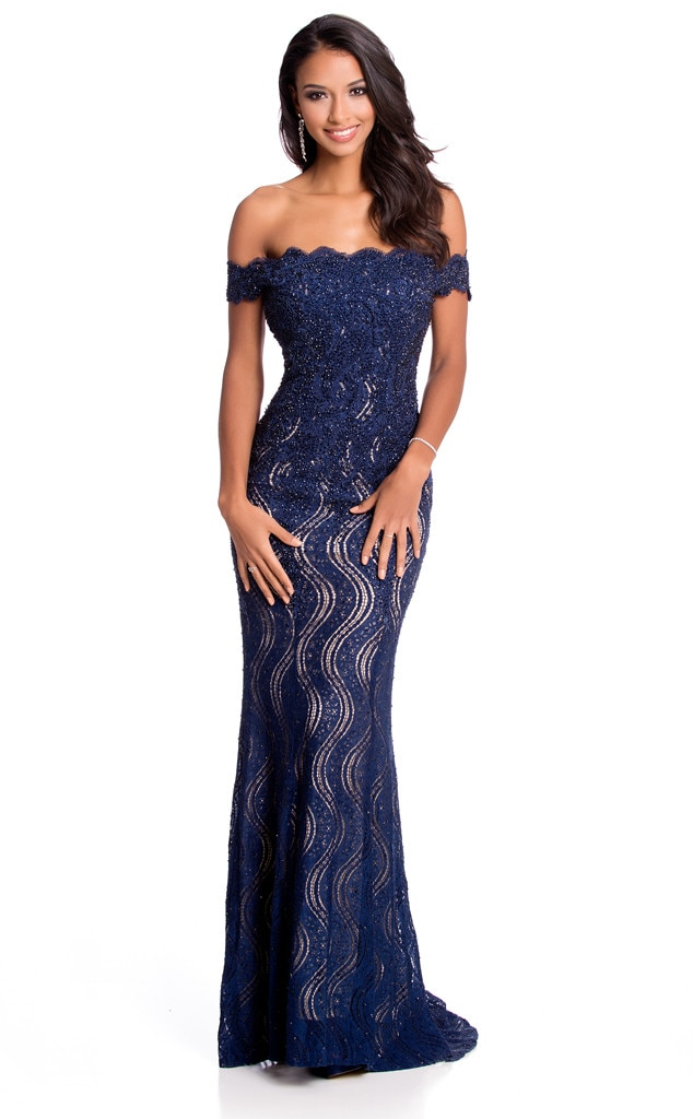 Miss France from 2015 Miss Universe Contestants in Evening Gowns | E ...