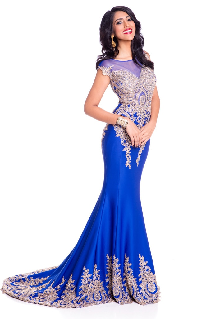 Miss Mauritius From 2015 Miss Universe Contestants In Evening Gowns E News Uk