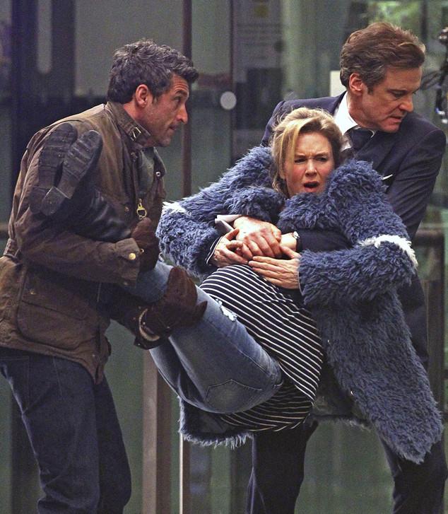 Renee Zellweger, Colin Firth, Patrick Dempsey, Bridget Jones's Baby