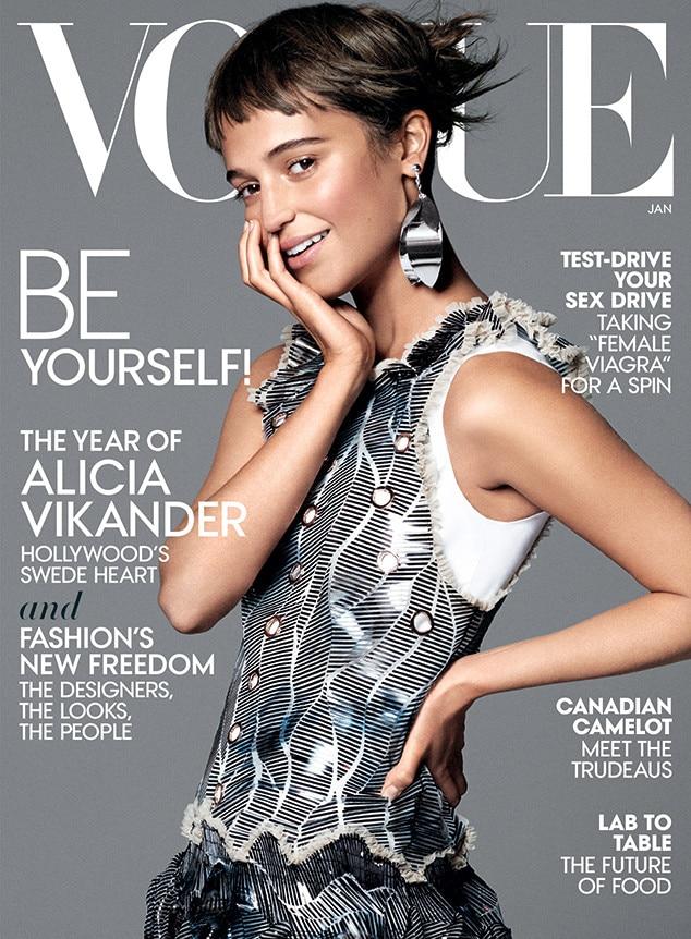 Alicia Vikander, Vogue