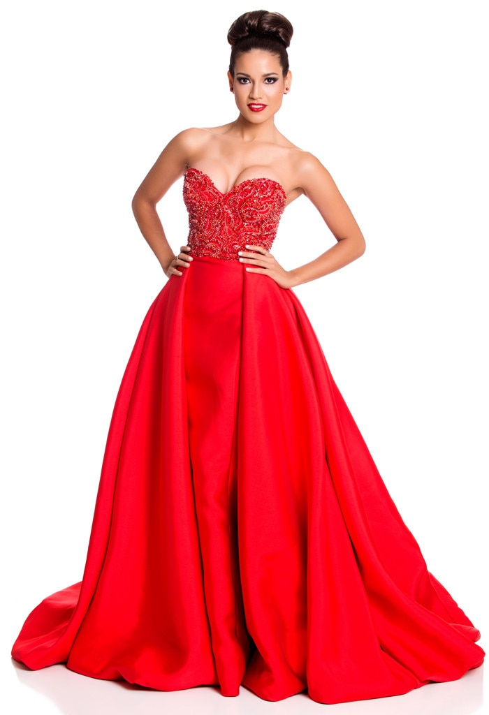 Miss Universe 2015, Evening Gown, Miss Argentina