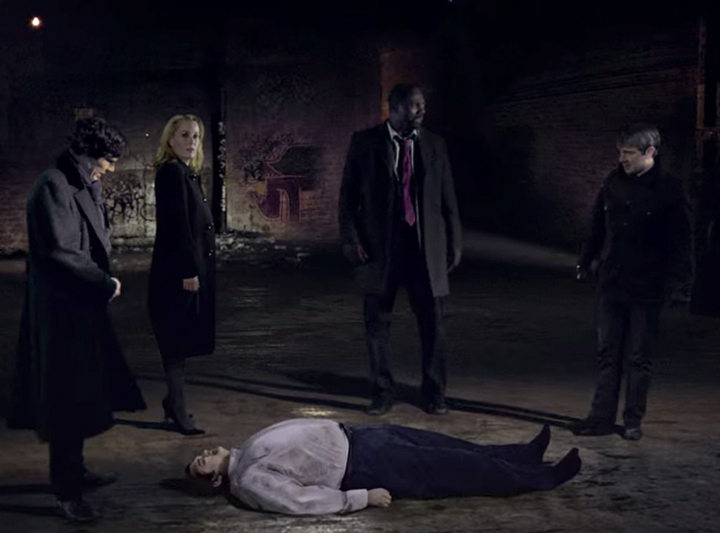The Fall, Sherlock, Luther, BBC