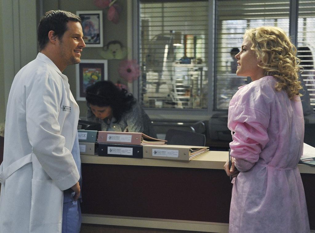 Grey's Anatomy, Couples, Justin Chambers, Rachael Taylor