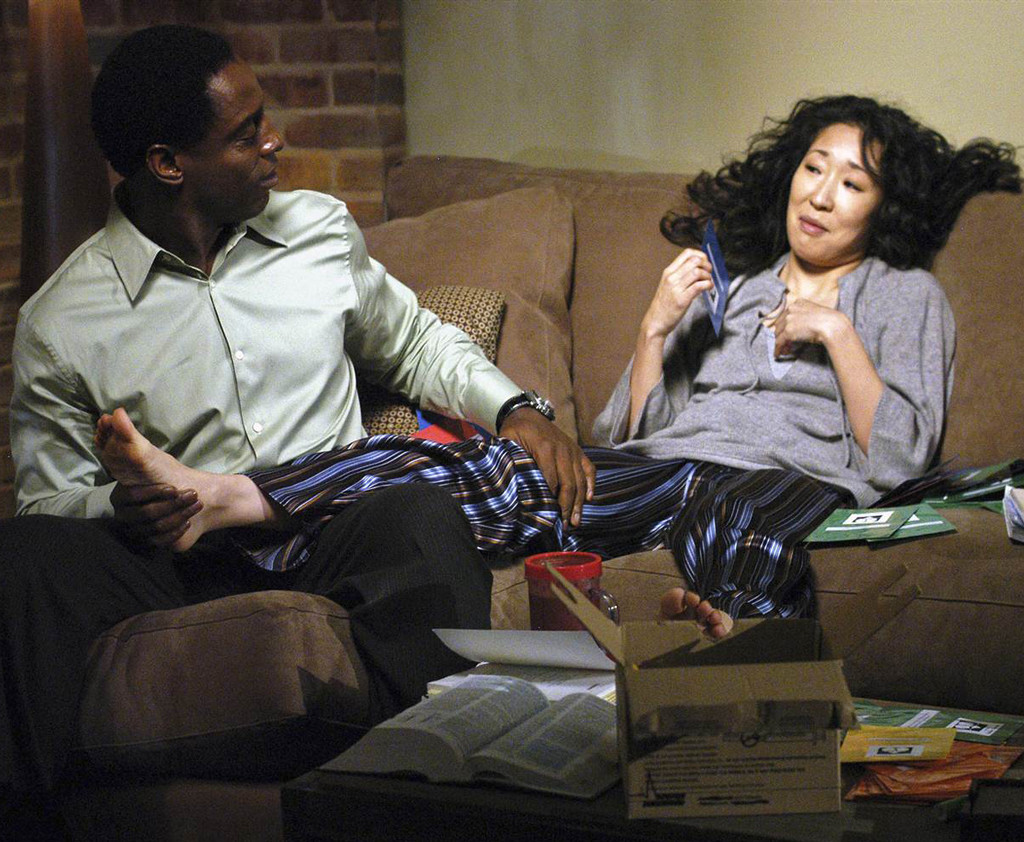 Grey's Anatomy, Couples, Sandra Oh, Isaiah Washington