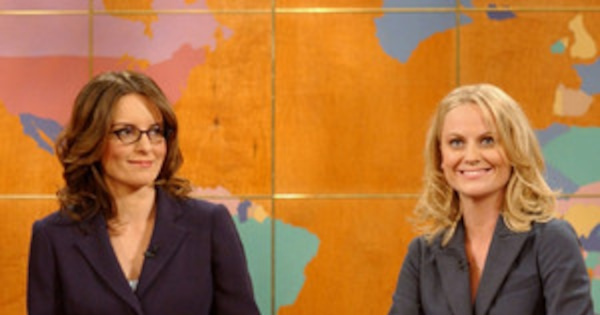 The 15 Greatest Moments From Amy Poehler and Tina Fey's Friendship