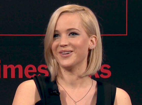 Jennifer Lawrence, Times Talks