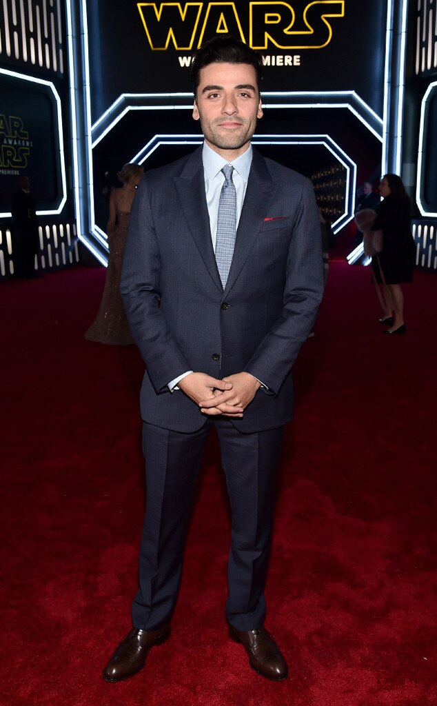 Oscar Isaac, Star Wars Premiere