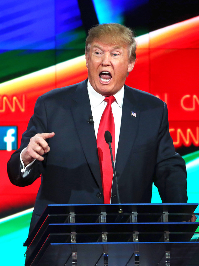 GOP Debate, Donald Trump