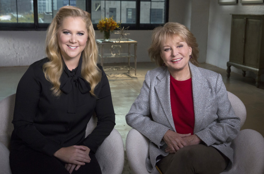 Amy Schumer, Barbara Walters
