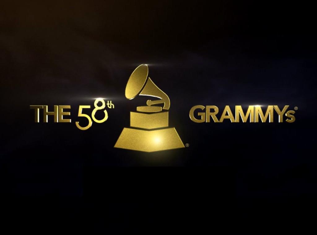 58th Annual Grammy Awards Logo