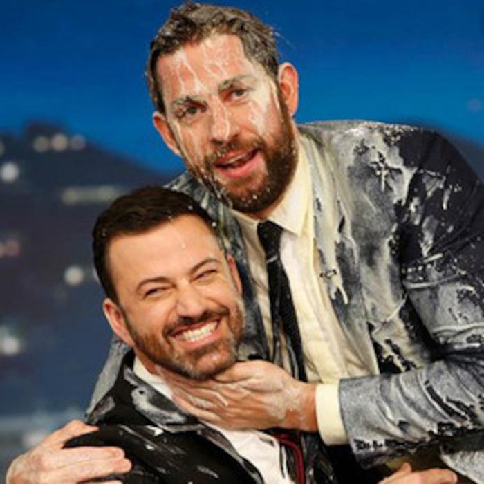 John Krasinski and Jimmy Kimmel\'s Christmas Prank War Has a Naked ...