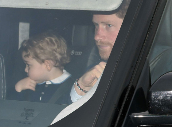 Prince George, Prince Harry