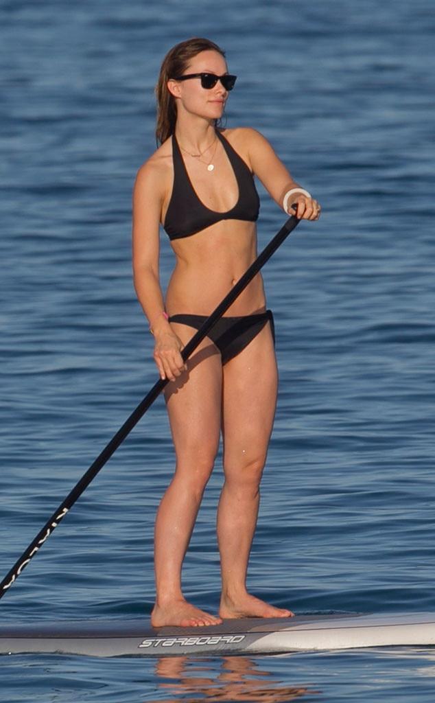 Olivia Wilde, Paddleboard