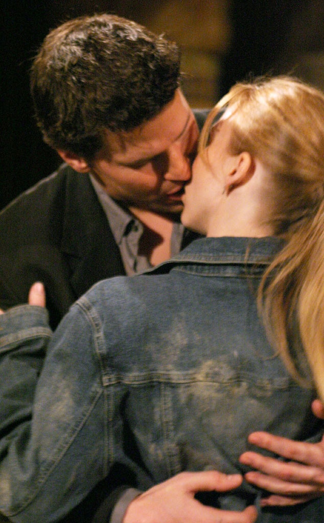 Sarah Michelle Gellar, David Boreanaz, Buffy, Tvs First Times
