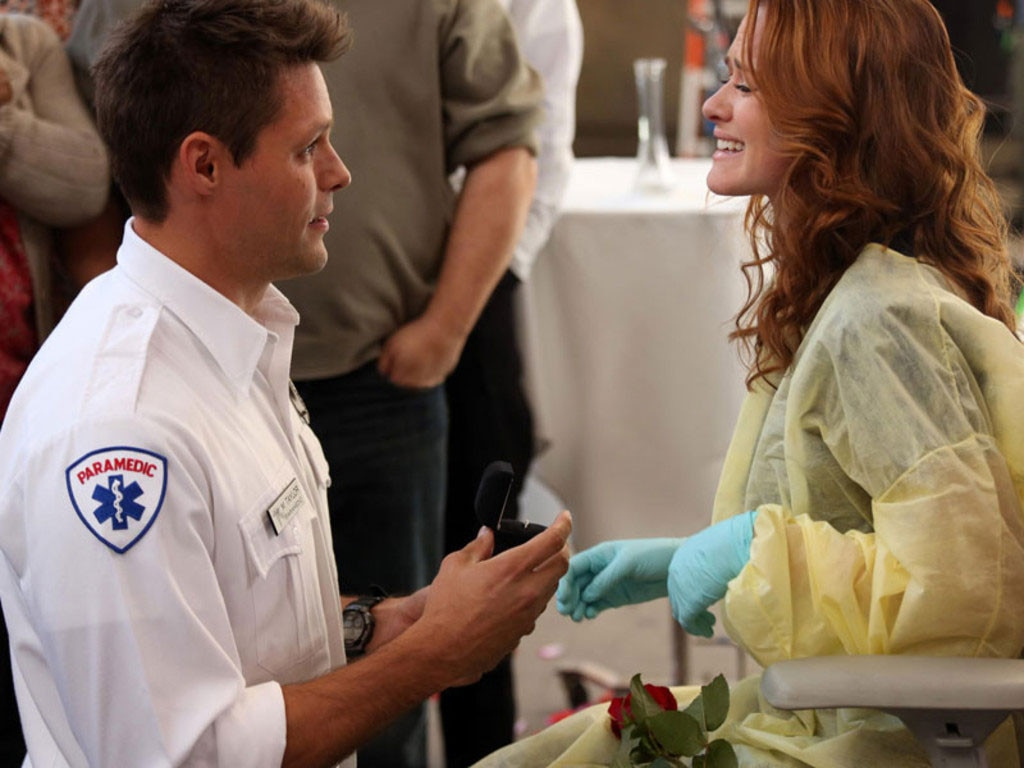 Grey's Anatomy, Couples, Sarah Drew, Justin Bruening