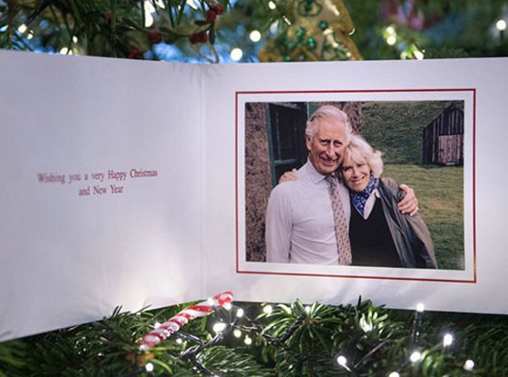 Prince Charles, Camilla Duchess of Cornwall, Christmas Card