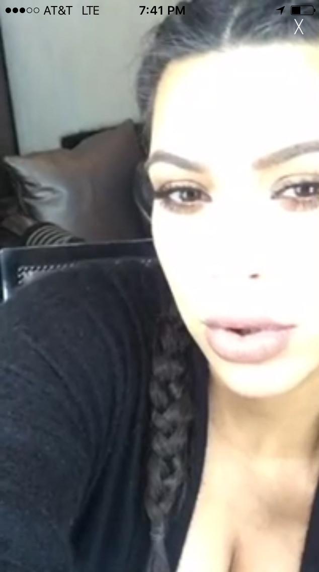 Kim Kardashian Livestream