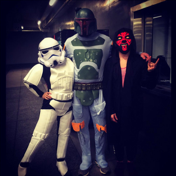 Ronda Rousey, Star Wars, Instagram