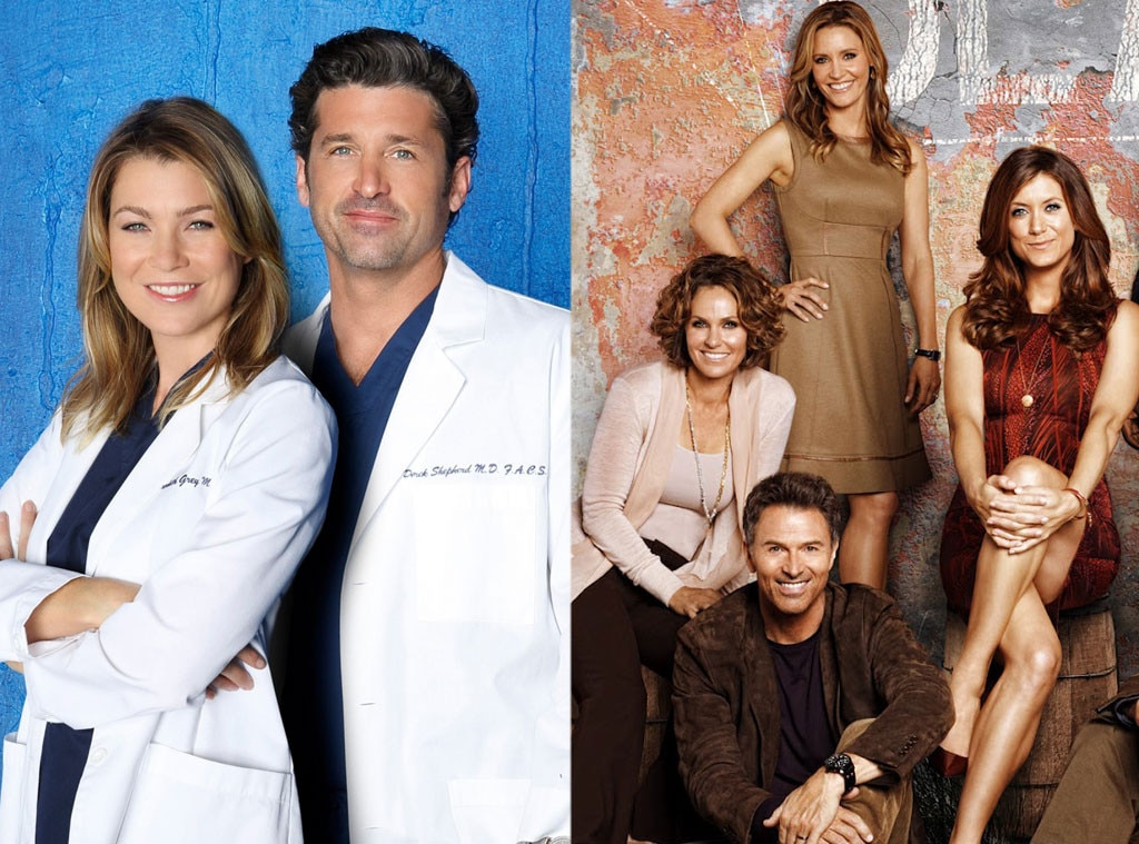 Grey\'s Anatomy vs. Private Practice from Mother Show vs. Spinoff ...
