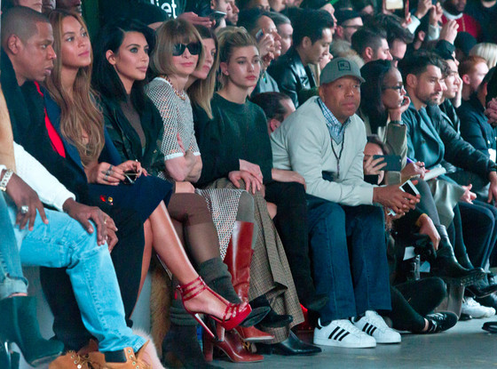 Jay-Z, Beyonce, Kim Kardashian, Anna Wintour, Hailey Baldwin, Russell Simmons, NYFW