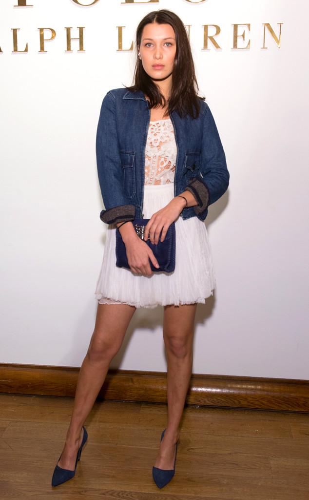 Bella Hadid, NYFW, Ralph Lauren