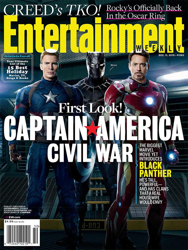 Captain America Civil War, Entertainment Weekly