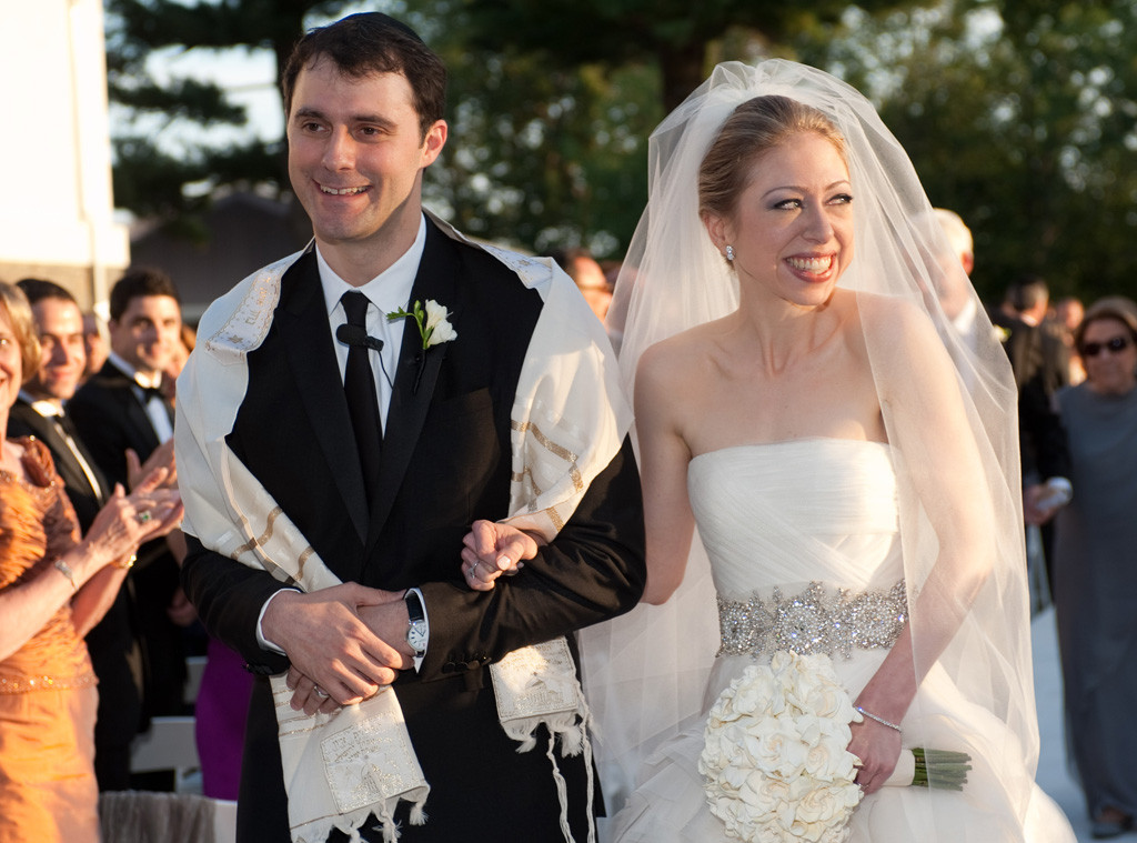 Marc Mezvinsky, Chelsea Clinton, Wedding