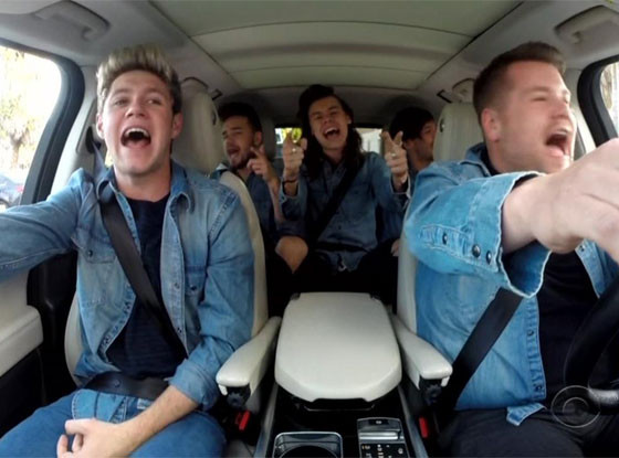 One Directon Carpool Karaoke