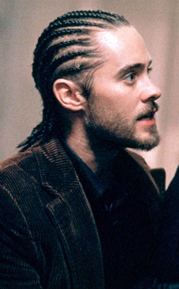 jared leto new hair style psycho hair from jared leto s hair e news 9270