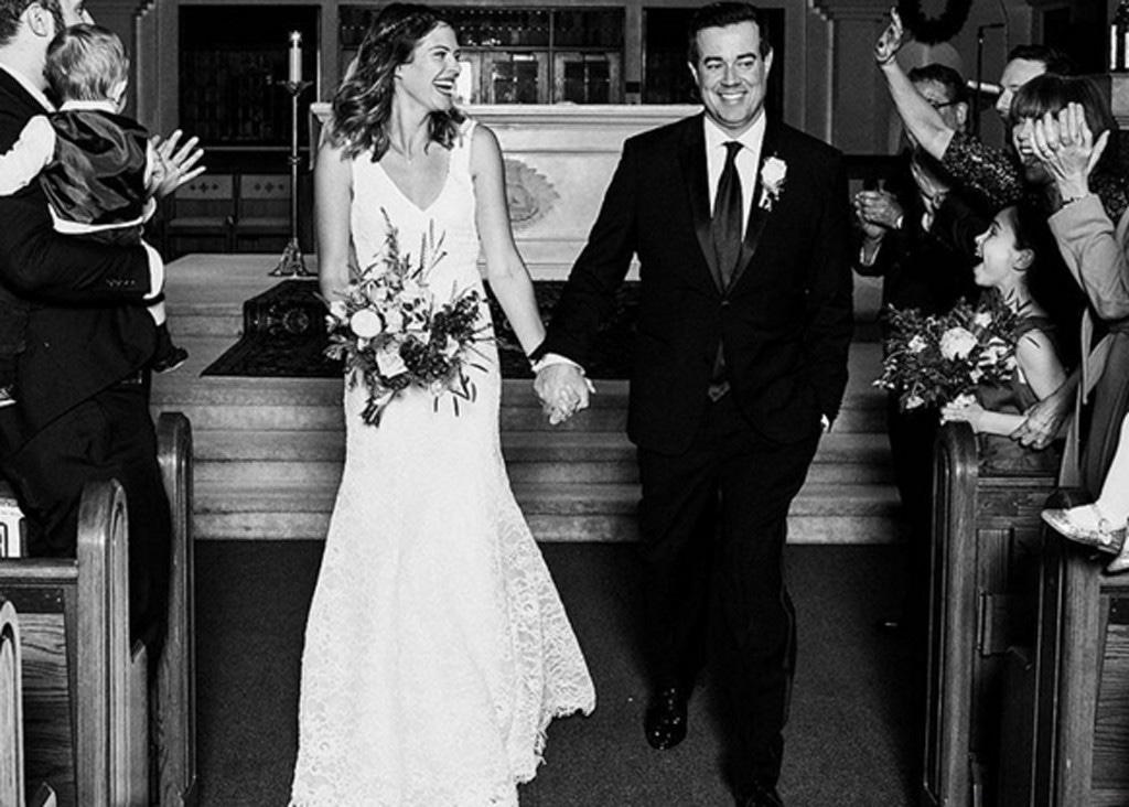 Carson Daly, Siri Pinter, Wedding