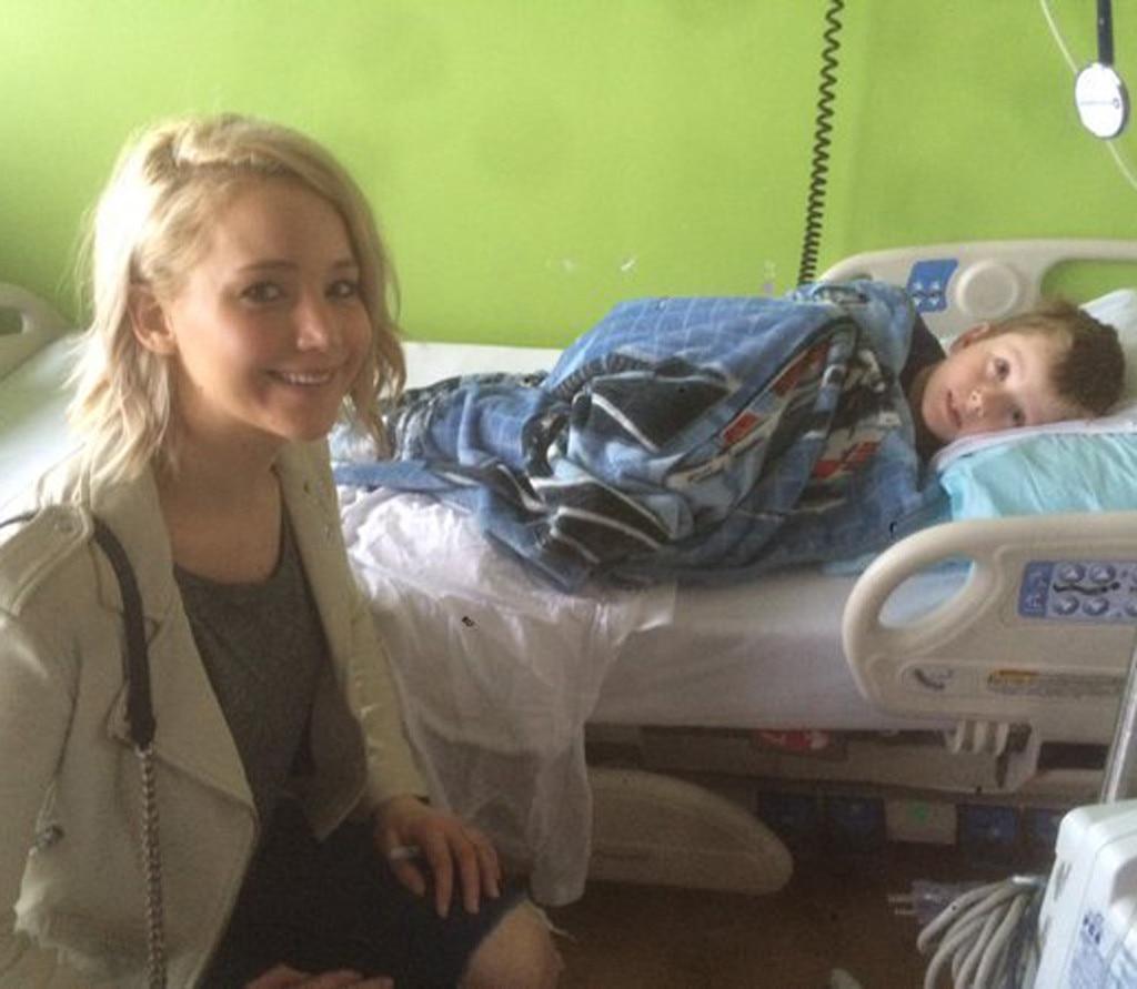 Jennifer Lawrence, Kosair Children's Hospital