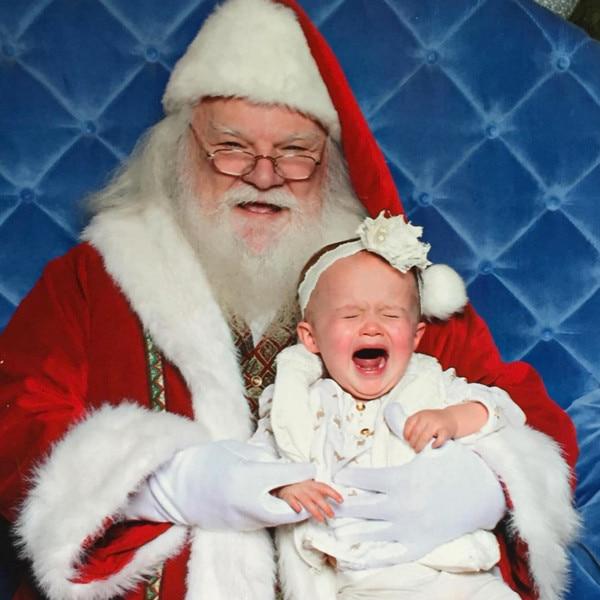 River Rose Blackstock, Kelly Clarkson Daughter, Santa, Christmas 2015