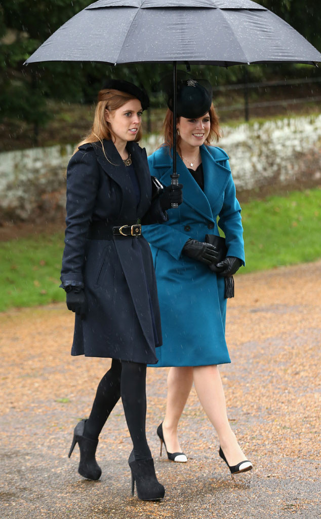 Princess Beatrice, Princess Eugenie, Christmas