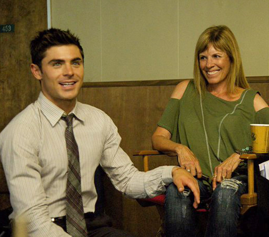 Zac Efron, Starla Baskett, Mom