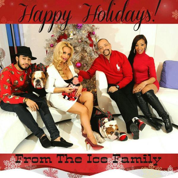 Coco, Ice-T, Christmas 2015